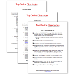 2015 Top Online Directories PLR + OTO 2015-tod-reports