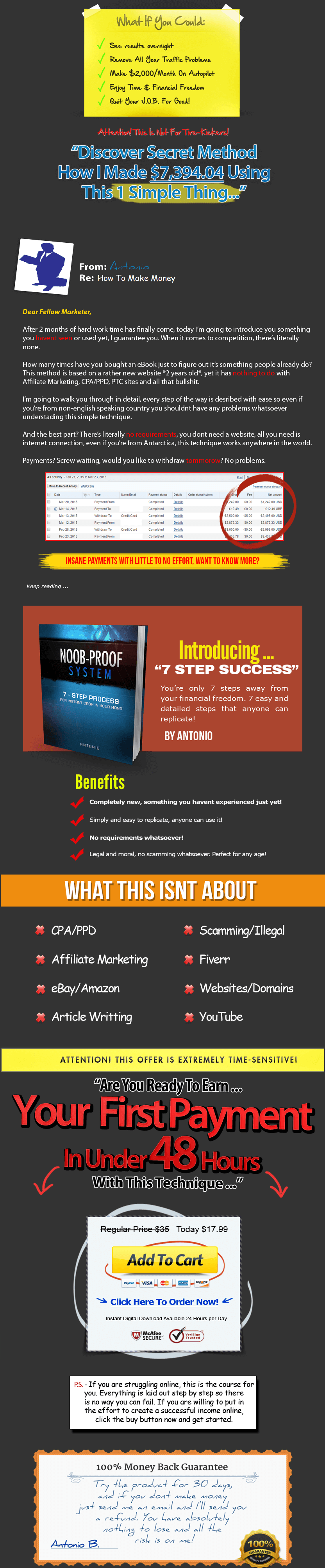 7 Steps to success with TeeSpring
