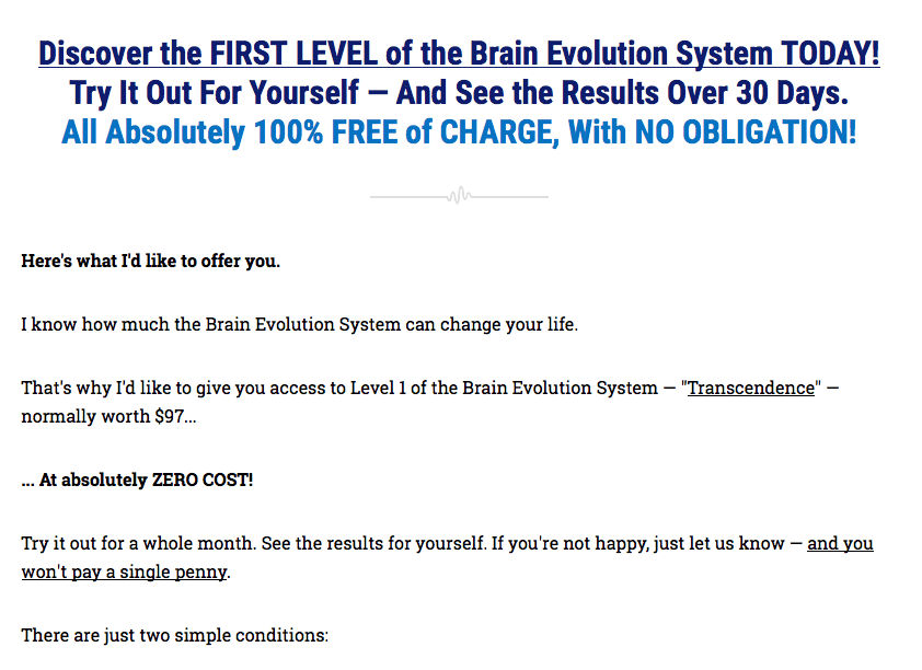 Brain Evolution System17