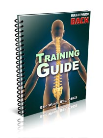 Bullet Proof Back System cover-training-guide