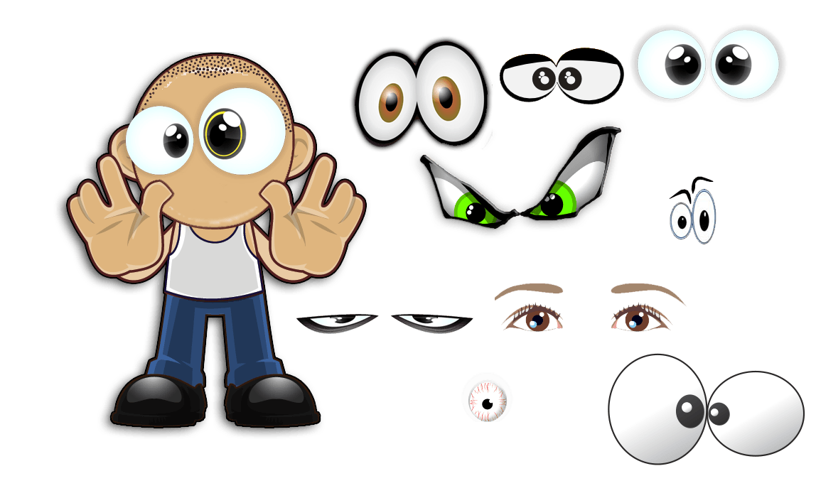 Character Creator Addon for The Logo Creator 100-Eyes
