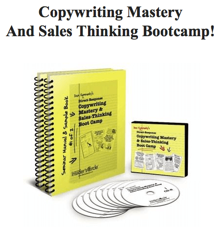 Copywriting Mastery and Sales-Thinking Boot Camp