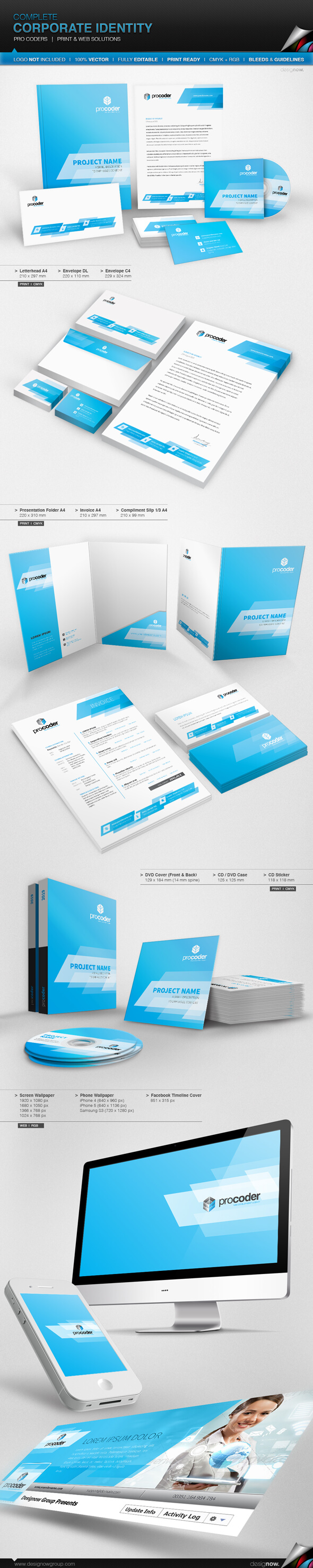 Corporate Identity – Pro Coders