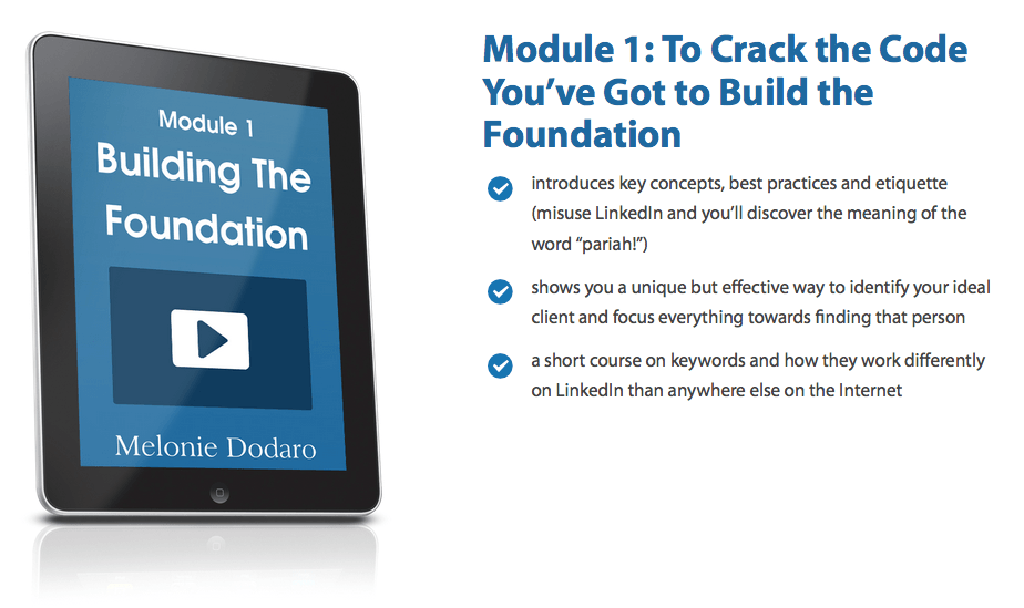 Cracking the LinkedIn Code 28