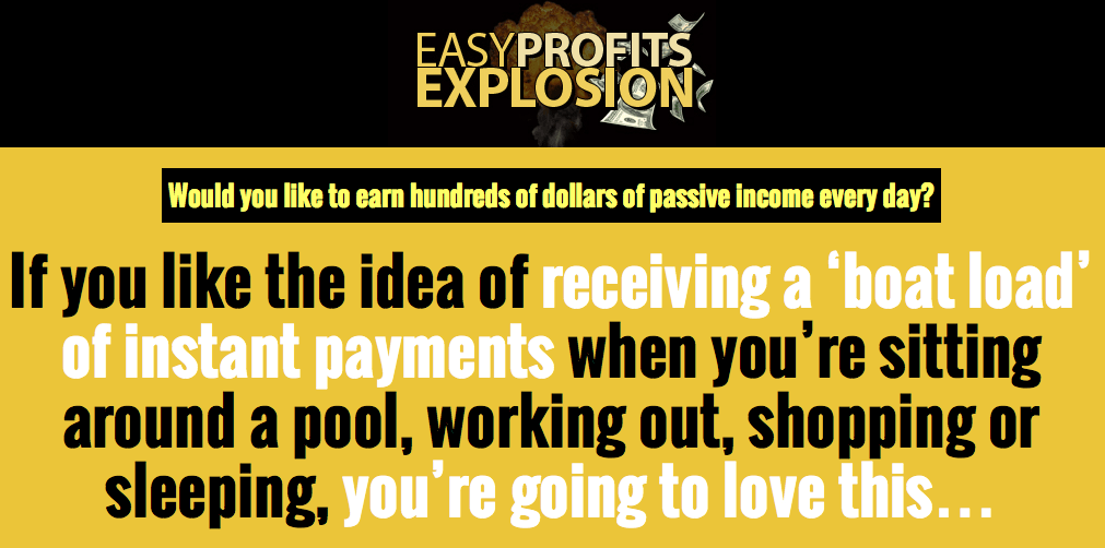 Easy Profits Explosion