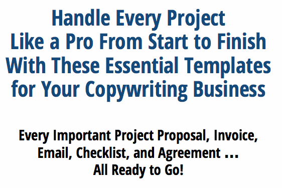 Essential Templates For Your Copywriting Business2