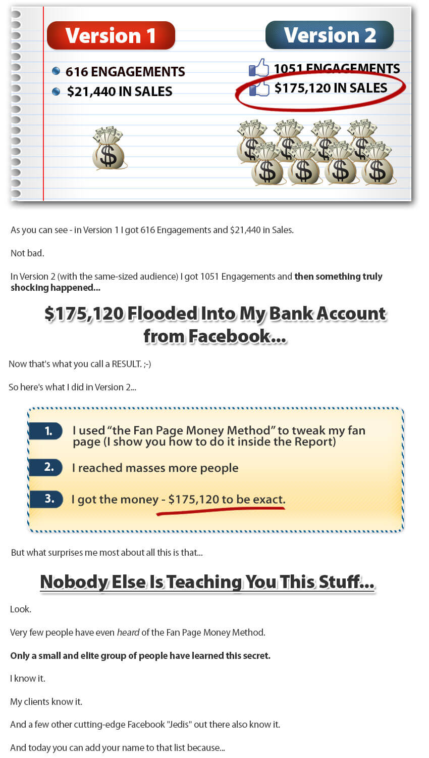 Fan Page Money Method3