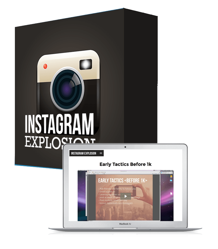 Instagram Explosion software_box_new