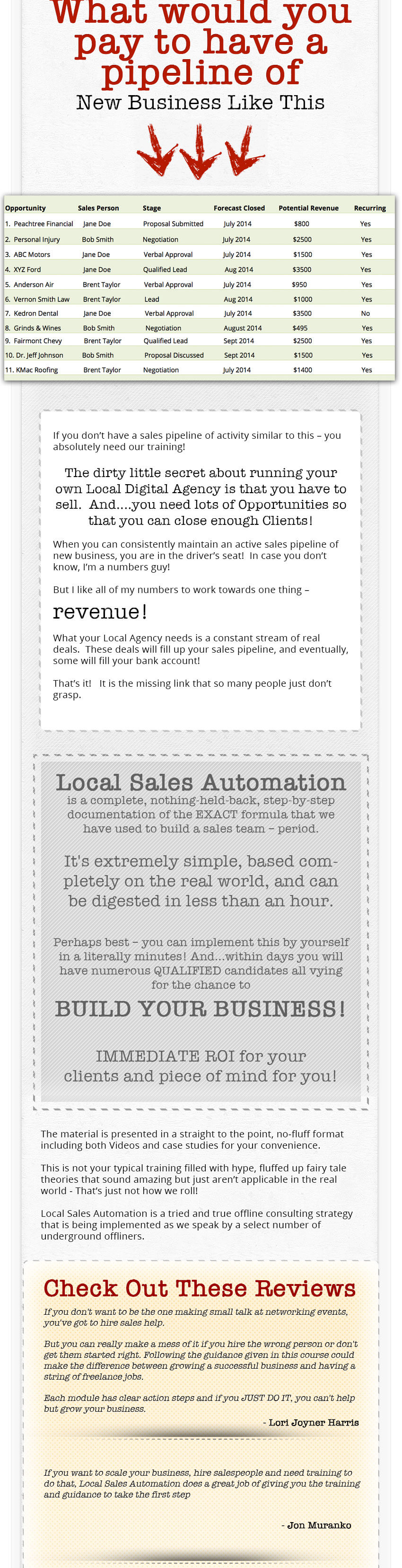 Local Sales Automation - Kevin Wilke, Ed Downes, Brian Anderson WSO_04