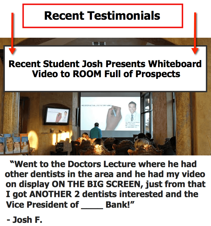 Local Whiteboard Video Producer Volume 4 testimonial-josh-pic2