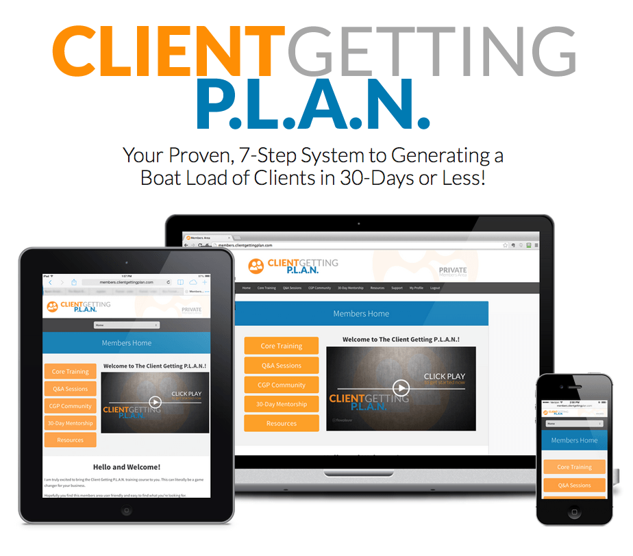 Marketing Consultant - Client Getting Plan7