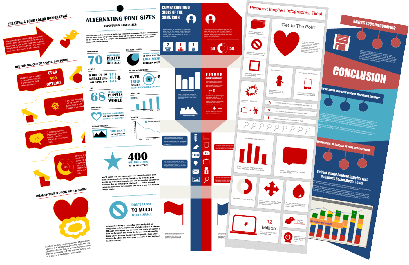 Massive Pack Full Vector Info-graphic Templates