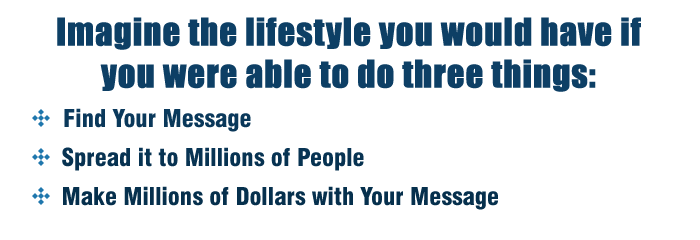 Message To Millions - Ted McGrath Image-the-lifestyle