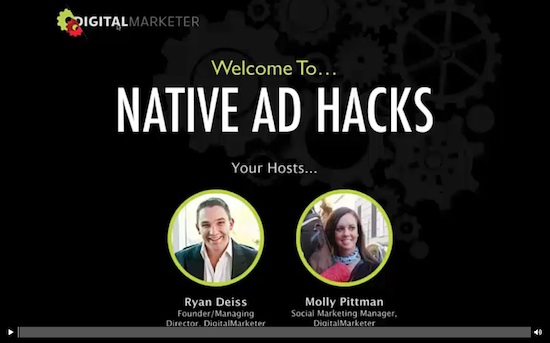 Native Ad Academy - Ryan Deiss