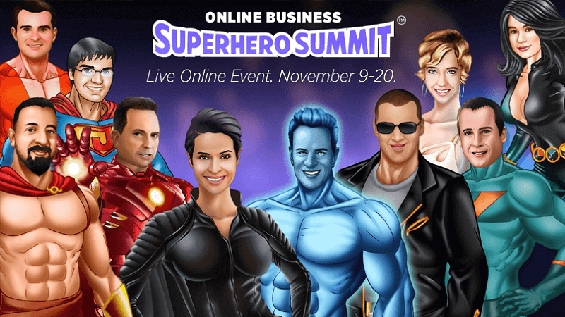 Online Business Superhero Summit 20153