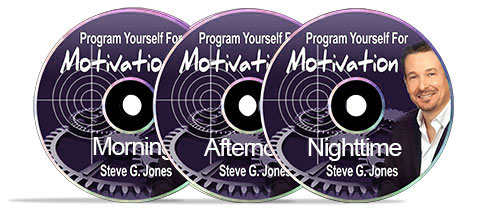 Program Yourself For Motivation CDs