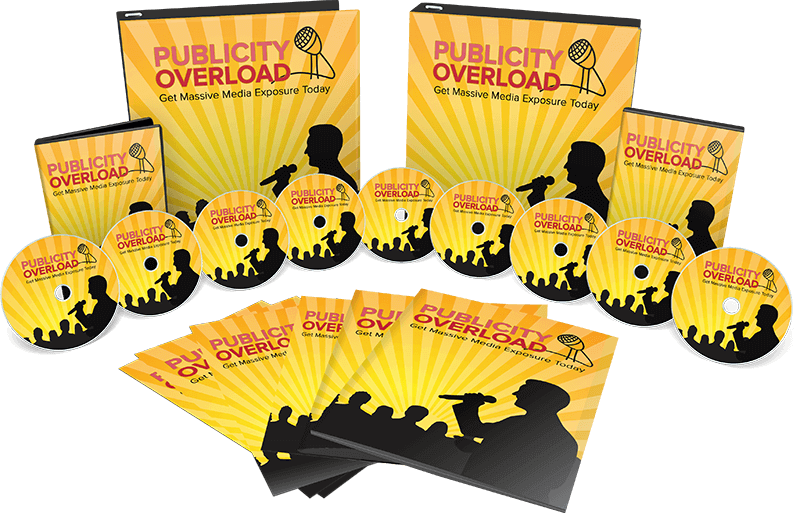 Publicity Overload – Get Massive Media Exposure Today bundle