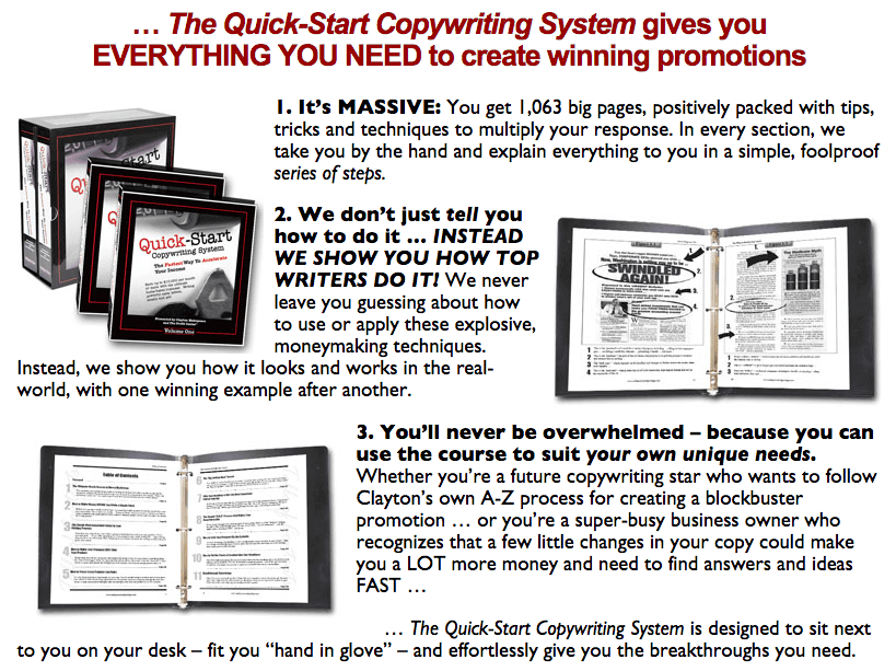 Quick-Start Copywriting System