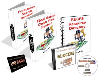 Real Estate Cash Flow System books