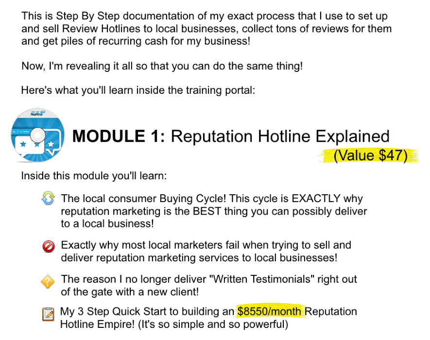 Reputation Hotline9