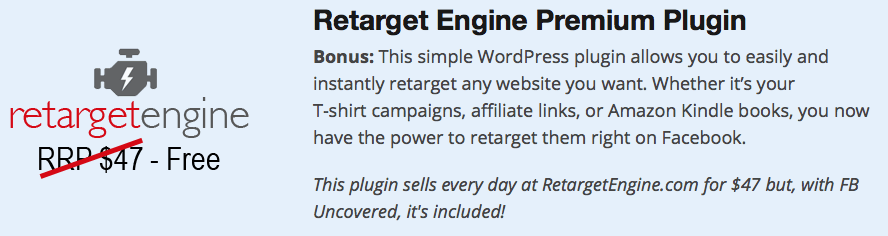 Retarget Engine Premium Plugin
