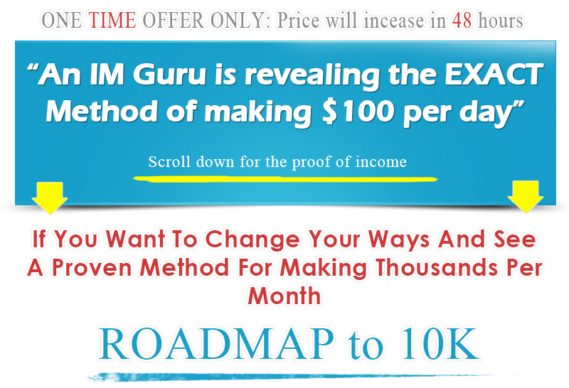 Roadmap to 10,000 in your Paypal Account