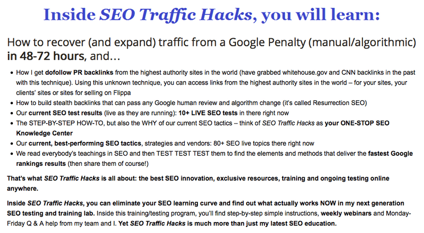 SEO Traffic Hacks – Terry Kyle2