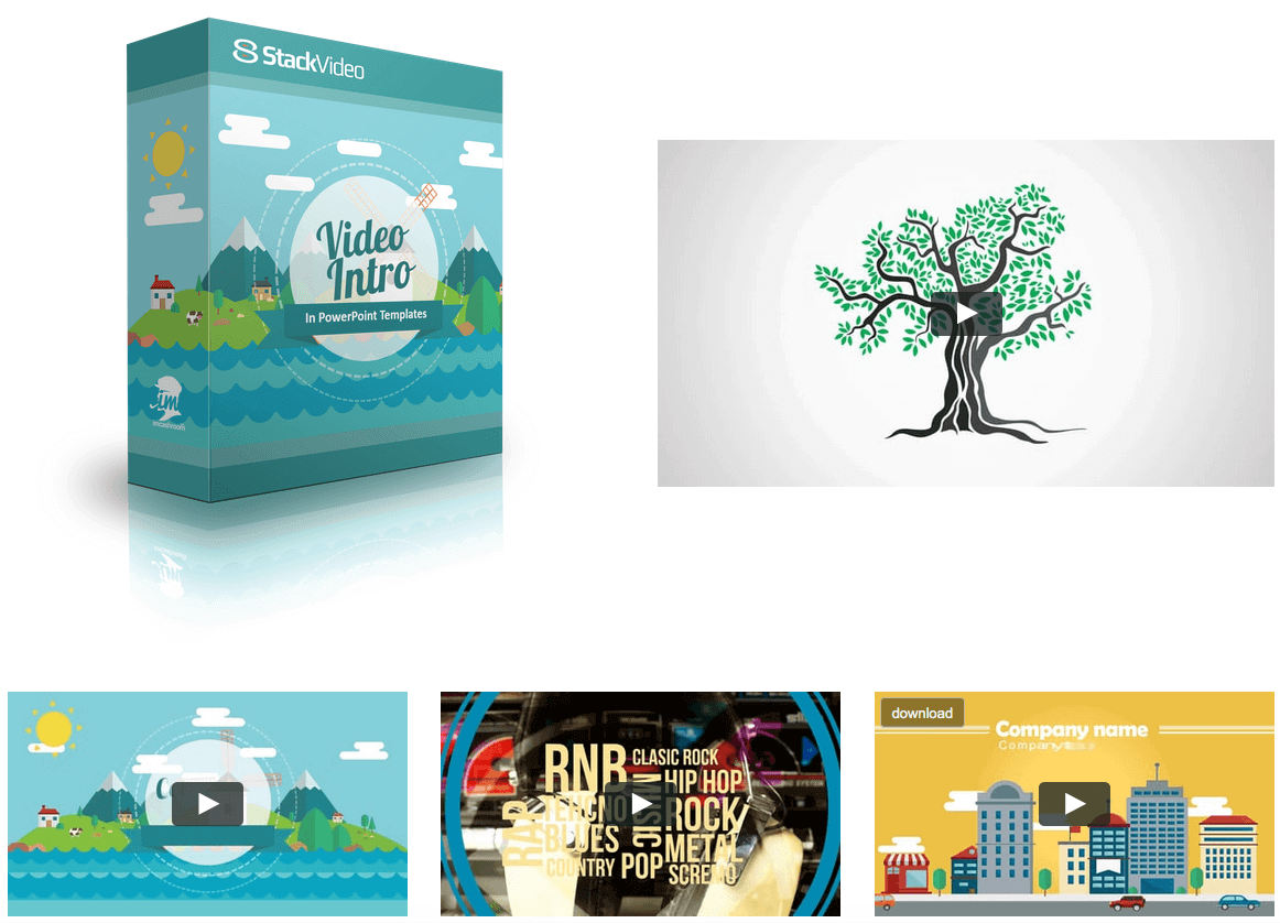 StackVideo 5 Done for Your Animated Video Powerful Template sd