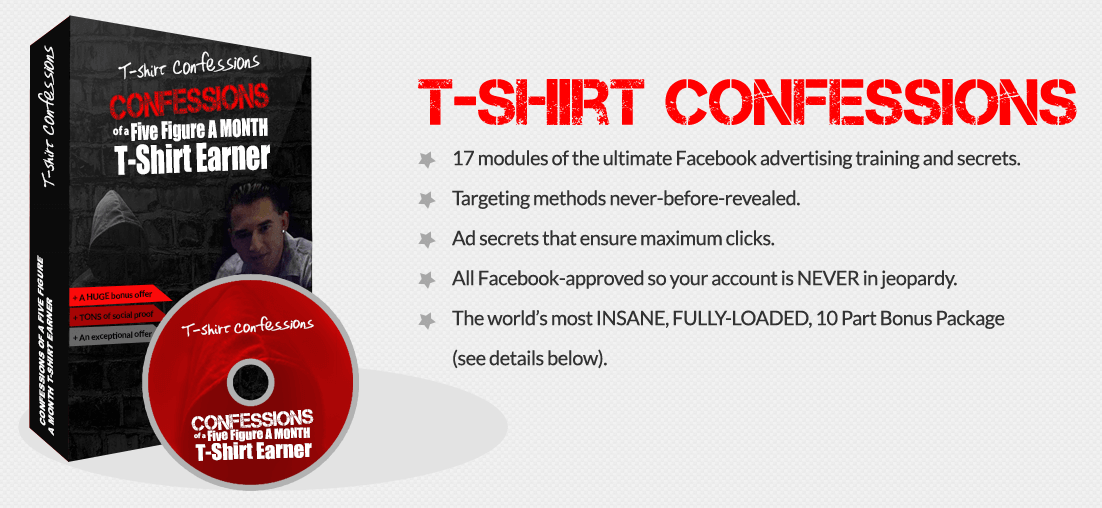 Tee Shirt Confessions Complete Course + Bonuses3