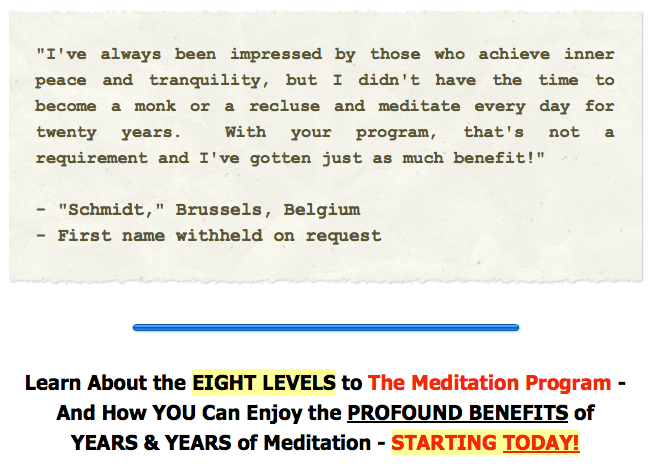 The Meditation Program 7