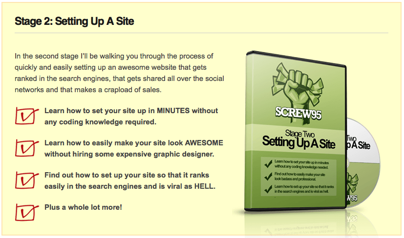 The No BS Approach To Making Money Online - Screw952