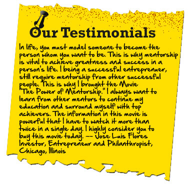 The Power of Mentorship the Movie testimonial2