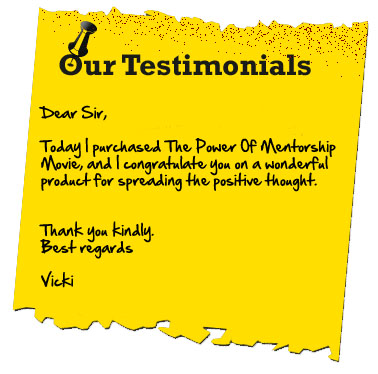 The Power of Mentorship the Movie testimonial3
