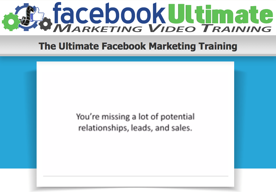 The Ultimate Facebook Marketing Training 2