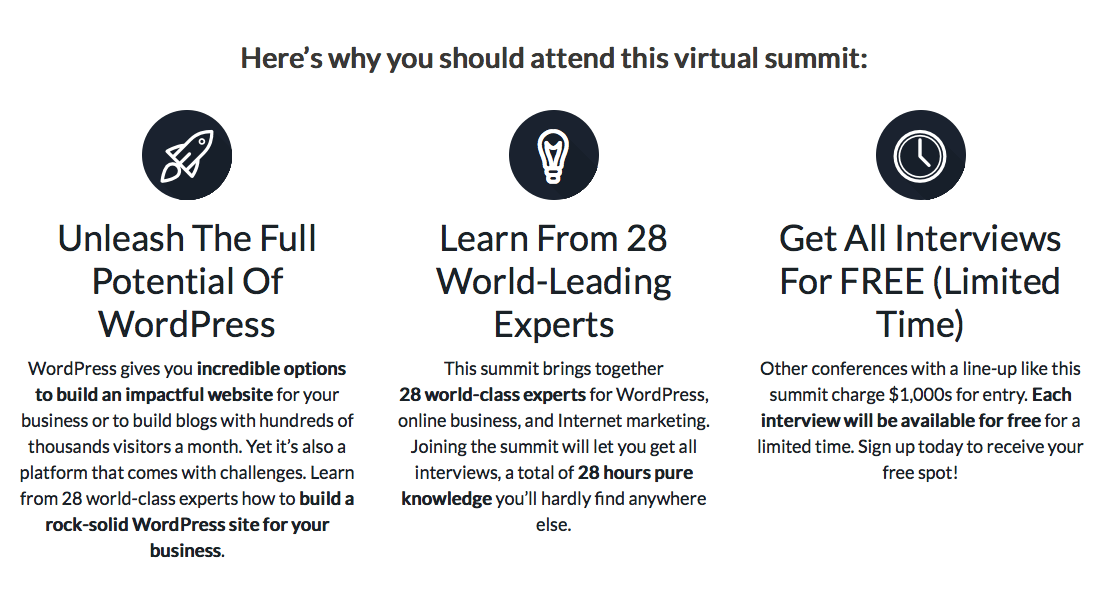 The WP Summit 2015