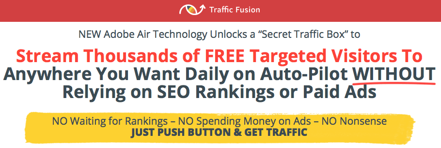 Traffic Fusion Pro + Profit Template
