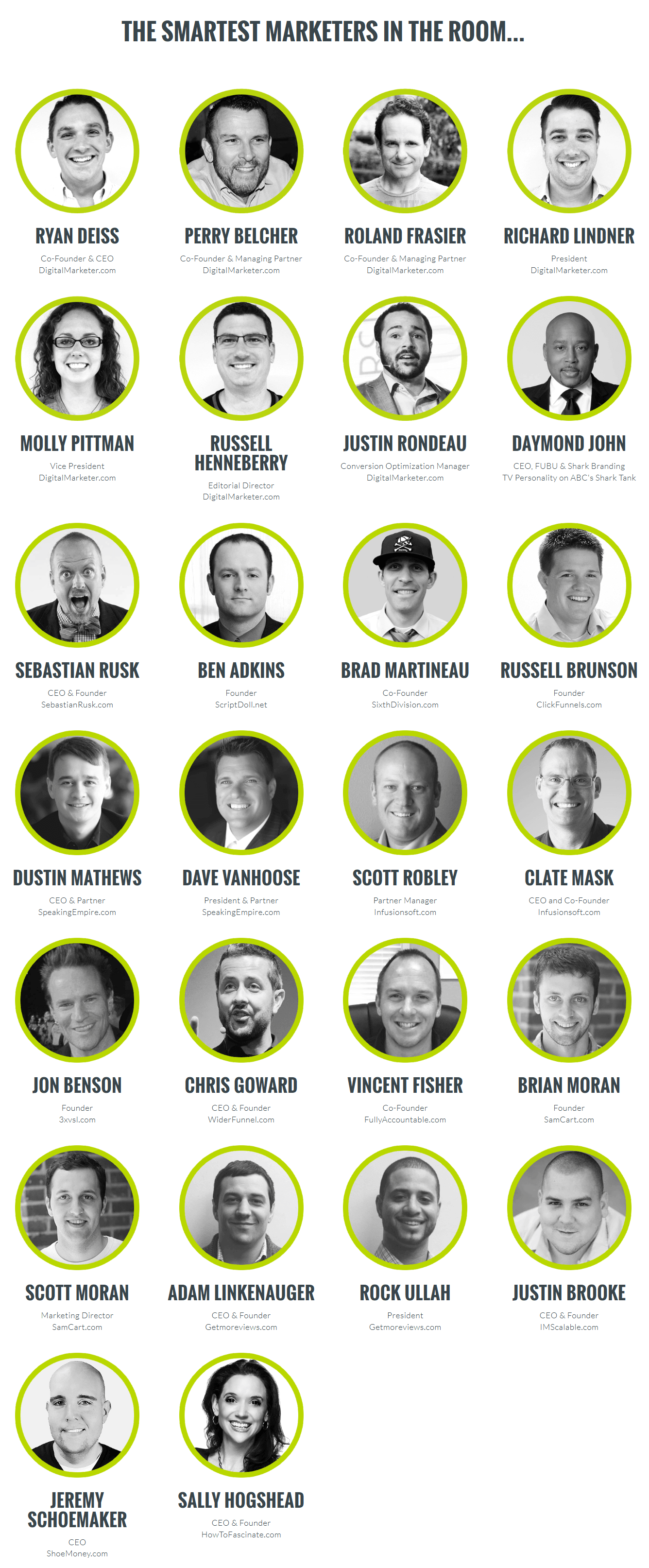 Traffic and Conversion Summit 2015 Recordings-Marketers
