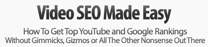 Video SEO Made Easy - David Kaminski