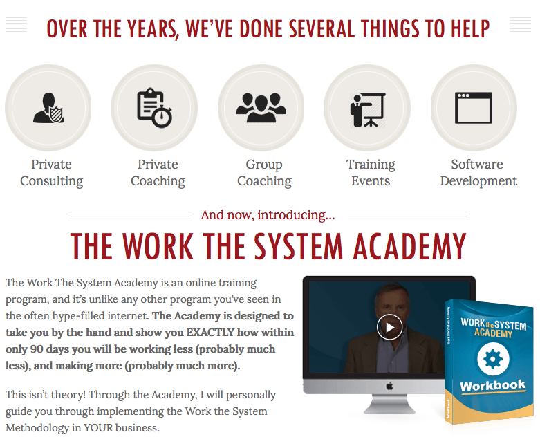Work The System Academy 9