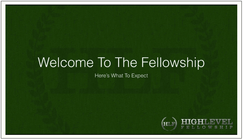 Frank Kern - High Level Fellowship