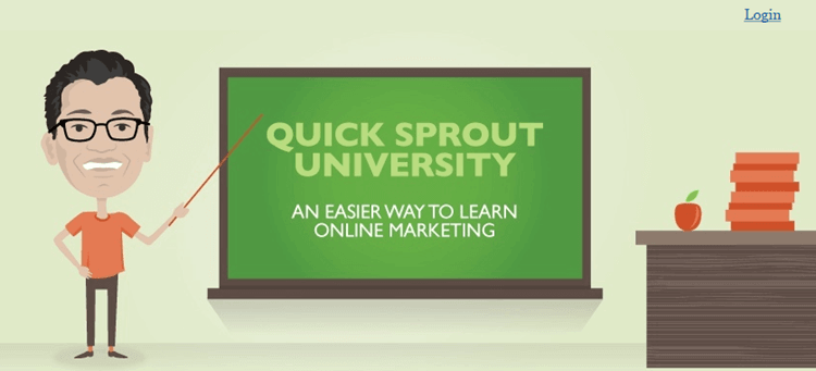 Quick Sprout Traffic SEO University – Neil Patel