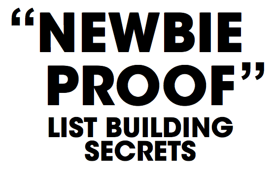 Ben-Settle-Newbie-Proof-List-Building-Secrets