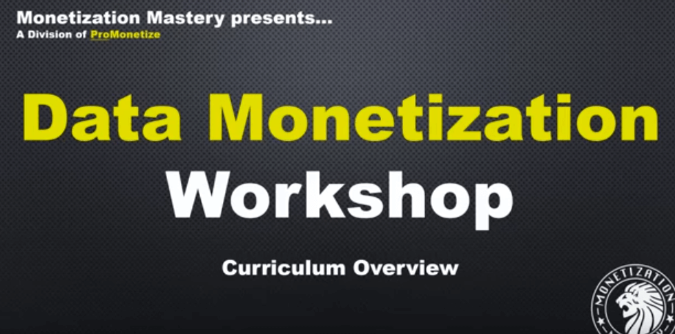 Ricco-Davis-–-Data-Monetization-Workshop