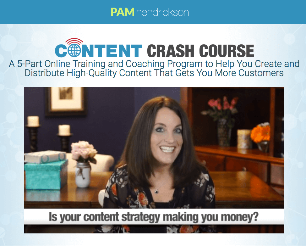 content-crash-course-pam-hendrickson